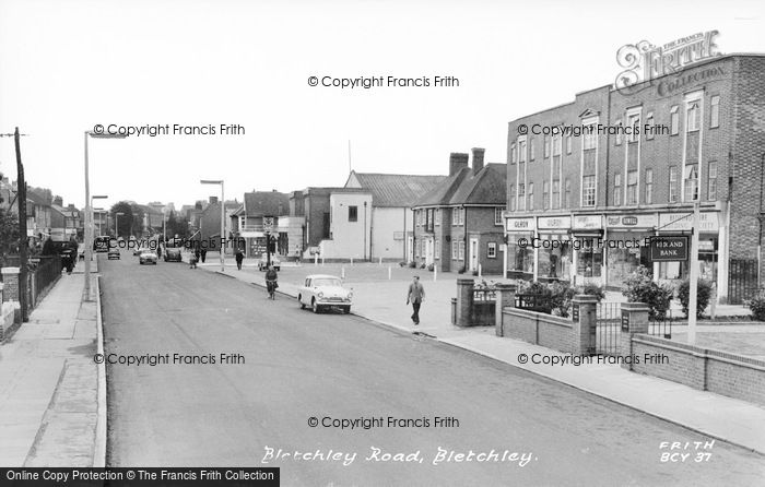Photo of Bletchley, Bletchley Road c.1955