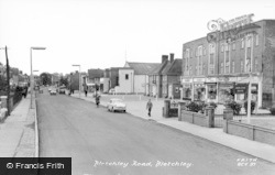 Bletchley Road c.1955, Bletchley