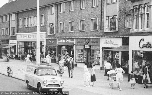 Photo of Bletchley, Bletchley Road, Shoppers 1961