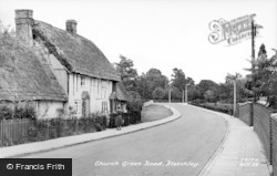 Bletchley, Church Lane c.1955