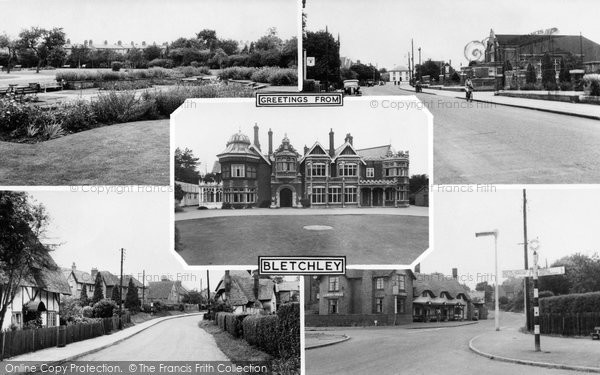 Photo of Bletchley, Composite c.1955
