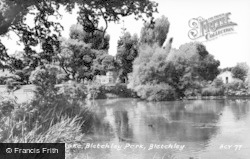 Bletchley, Park, The Lake c.1960