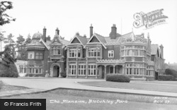 Bletchley, Park, The Mansion c.1955