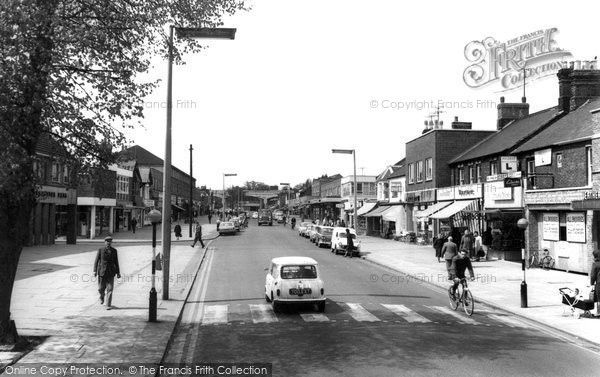 Photo of Bletchley, Queensway c.1965