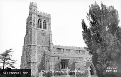 Bletchley, St Mary's Church c.1955