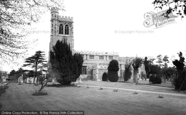 Bletchley, St Mary's Church c.1965