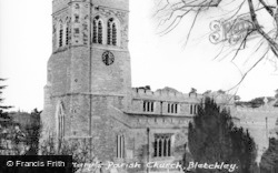 Bletchley, St Mary's Parish Church c.1960