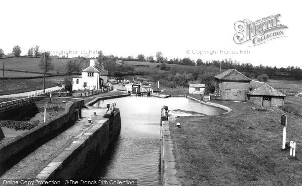 Photo of Bletchley, The Three Locks c.1965