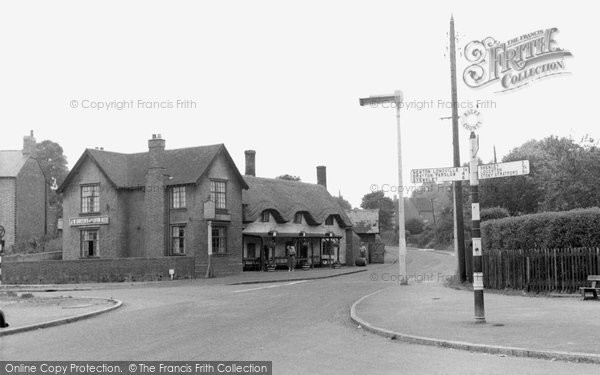 Photo of Bletchley, Tree Square c.1955