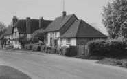 Blewbury, Ayres Cottage And Corrydon House c.1960