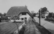 Blewbury, Orchard Dene Cottage, South Street c.1955