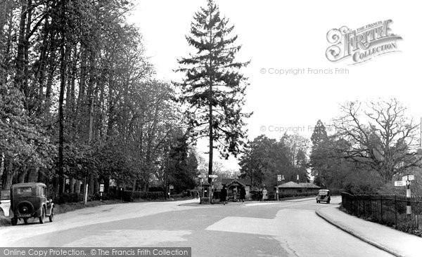 Blindley Heath, Anglefield Corner c.1955