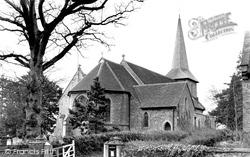 Church Of St John The Evangelist c.1955, Blindley Heath