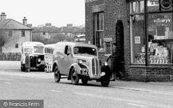 Ford 10 Van c.1955, Blindley Heath