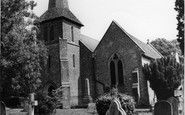 Blindley Heath, St John The Evangelist's Church c.1955