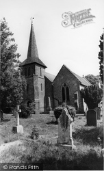 St John The Evangelist's Church c.1955, Blindley Heath