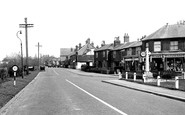 Blindley Heath, the Main Road c1955