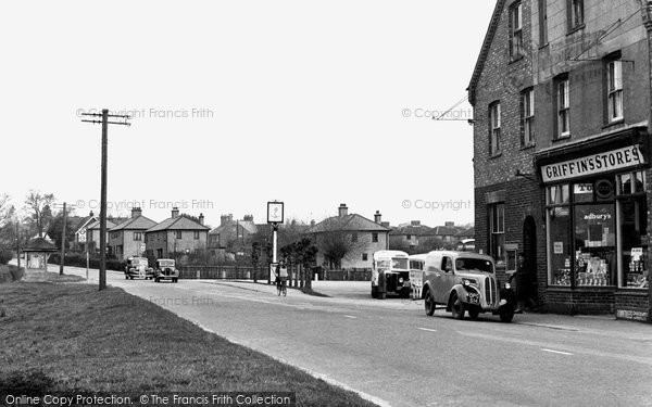 Blindley Heath, The Main Road c.1955