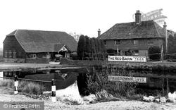 The Red Barn c.1955, Blindley Heath