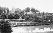 Blisworth, Church From The Canal c.1955