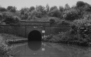 Blisworth, The Long Tunnel And Canal c.1955