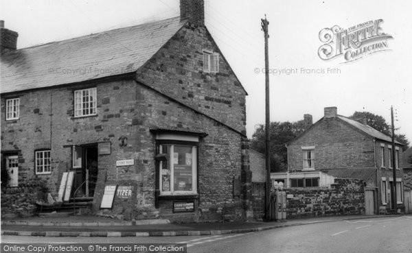 Blisworth, Village Shop c.1965
