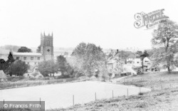 Blockley, St Peter And St Paul's Church And Village c.1955