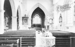 Blockley, St Peter And St Paul's Church Interior c.1955