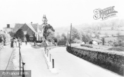 Blockley, View From Bus Shelter c.1955
