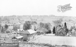 Blockley, View From The Hill c.1955
