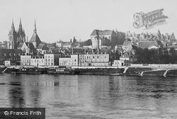 And The River Loire c.1930, Blois