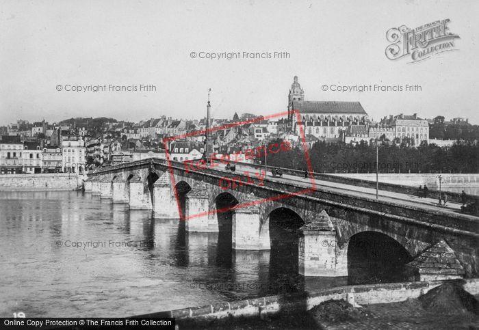 Photo of Blois, Bridge Over The Loire c.1930