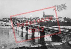 Bridge Over The Loire c.1930, Blois