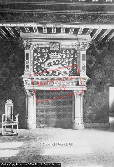 Photo of Blois, Chateau De Blois, Fireplace c.1930