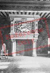 Chateau De Fireplace c.1930, Blois