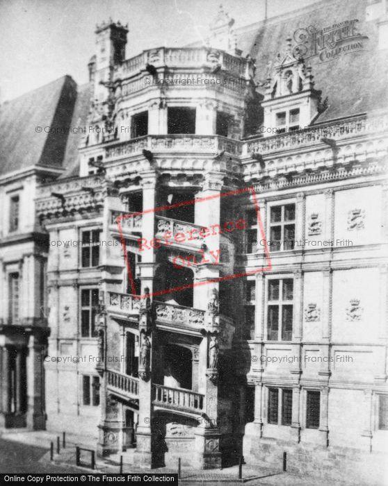Photo of Blois, Chateau De Blois, François I's Wing c.1935
