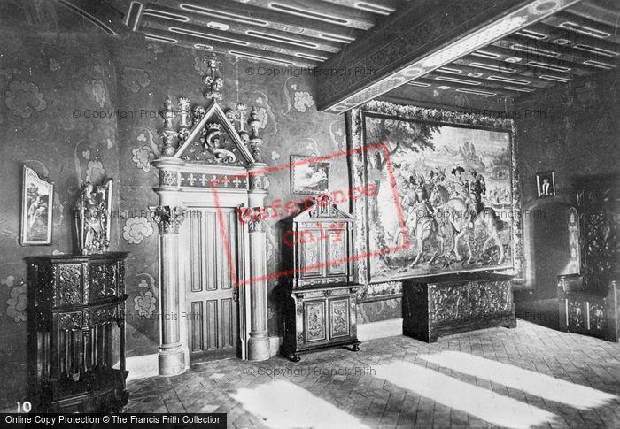 Photo of Blois, Chateau De Blois, Interior c.1930