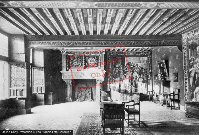 Photo of Blois, Chateau De Blois, King's Hall c.1930