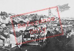 Rooftop View c.1930, Blois