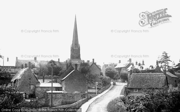 Bloxham, Old Bridge Road c.1955