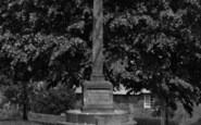 Bloxham, The Memorial c.1960