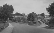 Bloxham, The War Memorial c.1955