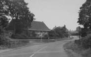 Bloxham, Village From The Railway Bridge c.1955