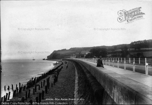 Blue Anchor, Beach 1903