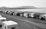Blue Anchor, Camp And Bay c.1955