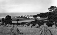 Blue Anchor, From The Hill 1930
