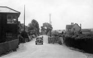 Blue Anchor, Railway Crossing c.1939