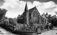 Blundellsands, the Roman Catholic Church c1960