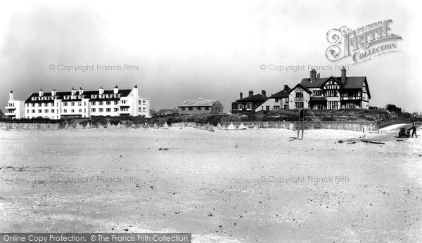 Photo of Blundellsands, the Beach c1960