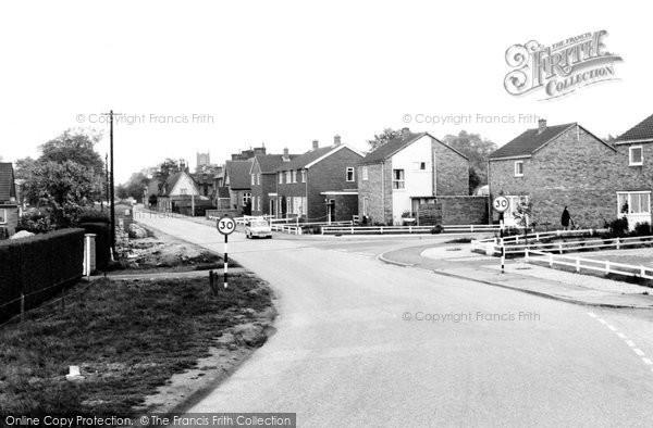 Photo of Blunham, High Street c.1965